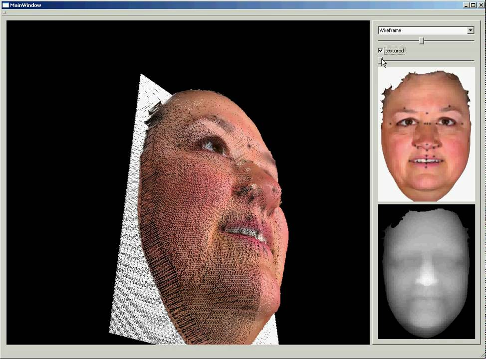 3d facial photos