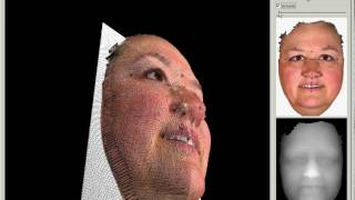 3D face reconstruction from texture and heightmap