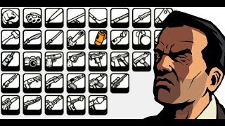 ¿Dónde encontrar TODAS LAS ARMAS DE GTA LIBERTY CITY STORIES?