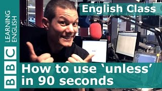 Speaking English - How to use
