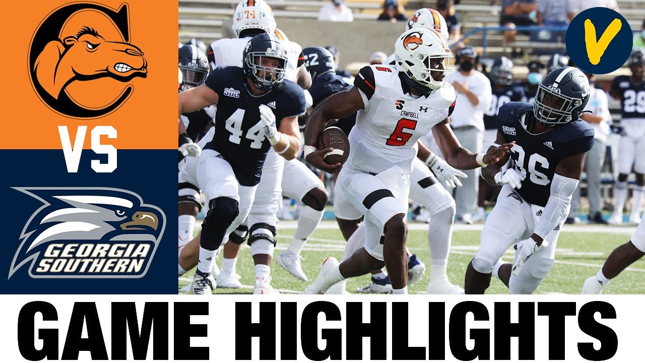 Campbell vs Georgia Southern Highlights | Week 2 College Football Highlights | 2020 College Football