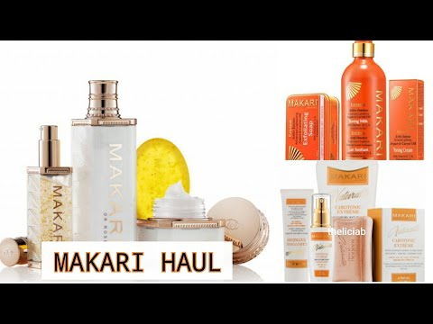 MAKARI de Suisse CAROTONIC EXTREME BODY GLYCERIN, BODY LOTION and more!!!