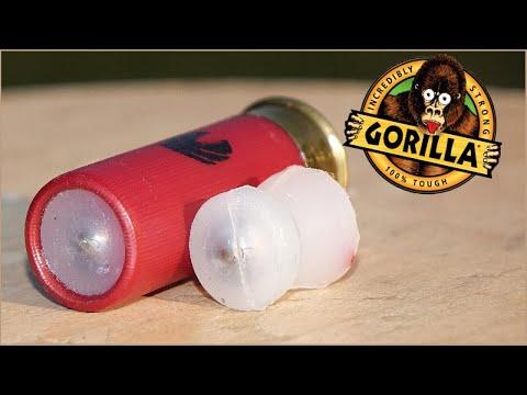 Gorilla Glue 12ga Slugs  -  Tested