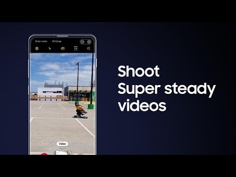 Galaxy S10: How to shoot Super steady videos - YouTube
