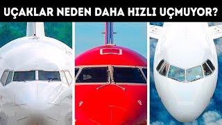 Yolcu Uçakları Neden Daha Hızlı Uçmuyor?