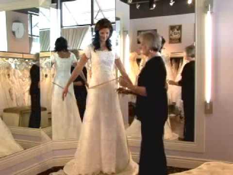 How to Take Wedding Dress Measurements