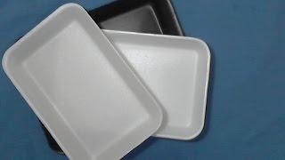 Recicle bandejas de Isopor em seus artesanatos