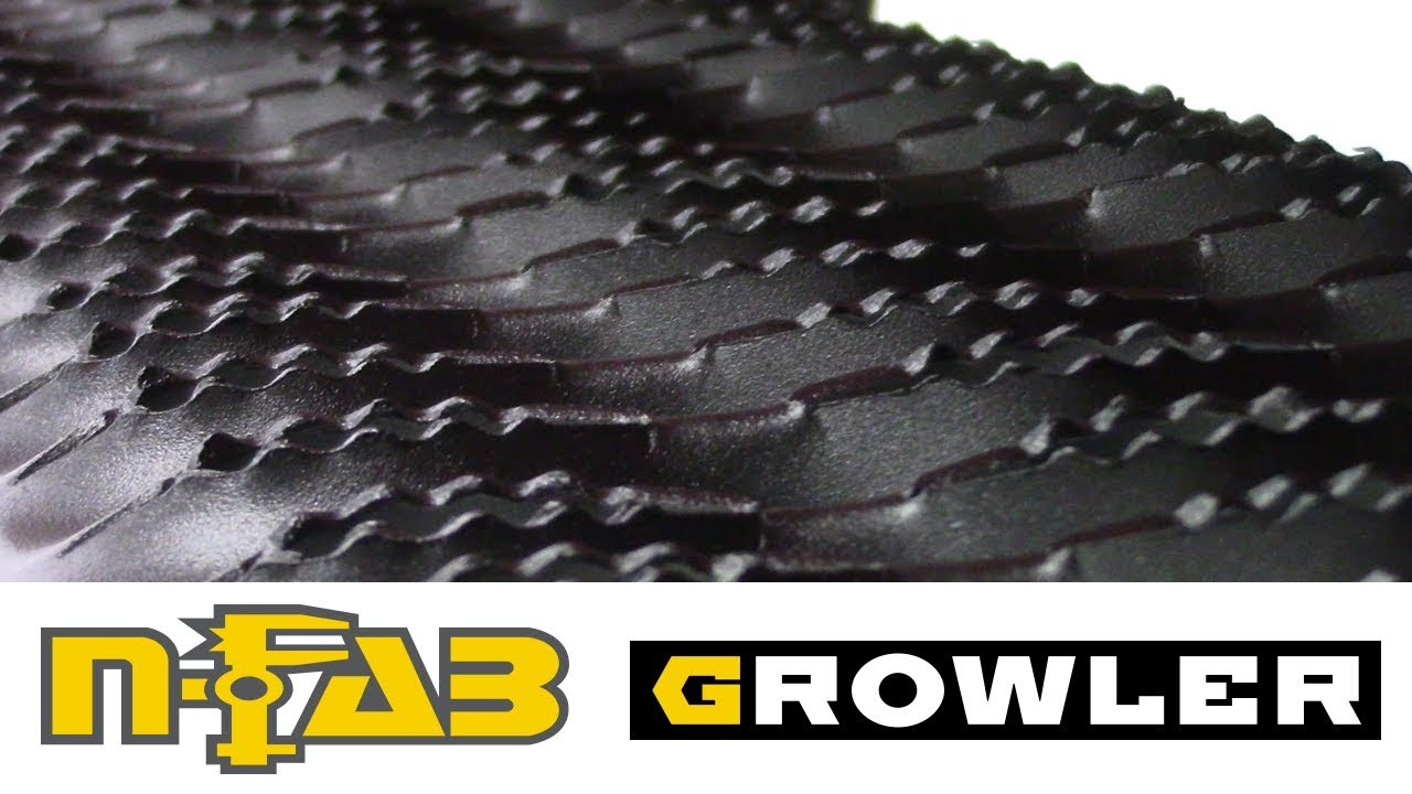 In the Garage™ with Total Truck Centers™: N-FAB Growler Running Boards