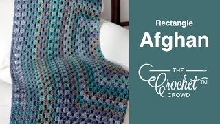 Crochet Rectangle Granny Afghan