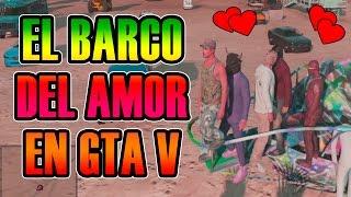 GTA V ONLINE | EL BARCO DEL AMOR Y LA RULETA RUSA =D | Josemi