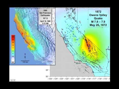 Owens Valley Quake 1872