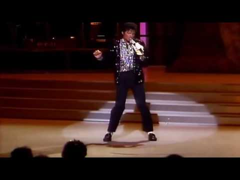 Billie Jean Live Michael Jackson HD (with LYRICS)