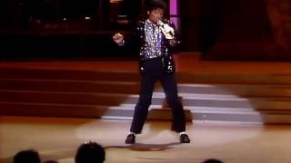 Billie Jean Live Michael Jackson HD (with LYRICS)