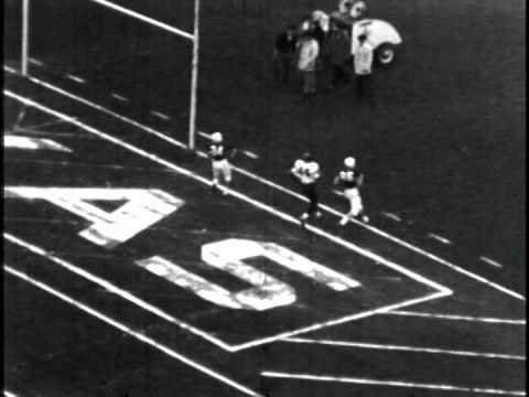 Ernie Davis 87 Yard TD Catch in 1960 Cotton Bowl