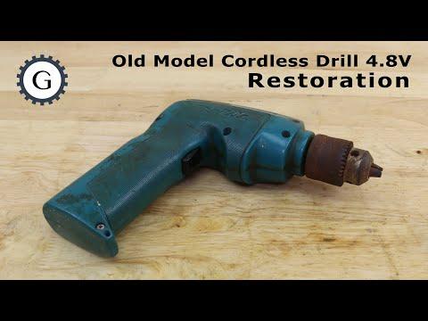 Old Model Cordless Drill Restoration | Makita 6040D