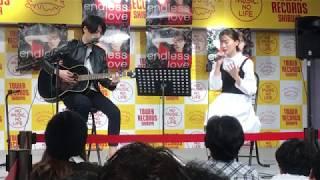 2017年10月8日(日) 『TOWER RECORDS 渋谷店』で行われた!! 重盛さと...