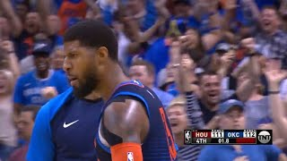 Paul George Hits a COLD-BLOODED Game Winner vs Rockets