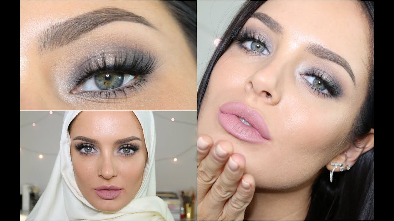 Eid makeup tutorial soft glam look with cool tones youtube baditri Gallery