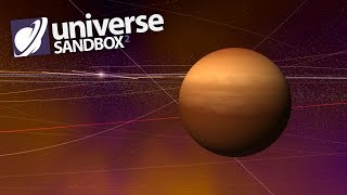 What If A Gas Giant Was In The Asteroid Belt, Universe Sandbox ²