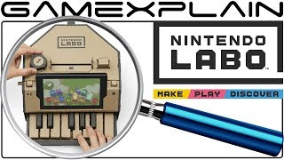 Nintendo Labo ANALYSIS - Reveal Trailer (Secrets & Future Toy-Cons)
