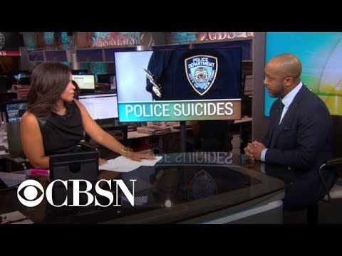 "NYPD commissioner calls officer suicides a ""crisis"""