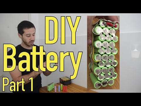 DIY Lithium Battery - Battery Layout - Part 1/5