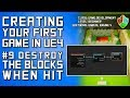 #9 Use an On Hit Event to Destroy Blocks | Unreal Engine 4 Blueprint Tutorial