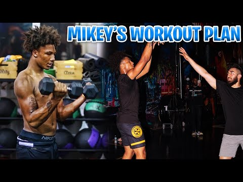 Mikey Williams Workout Plan! #3 Ranked ESPN