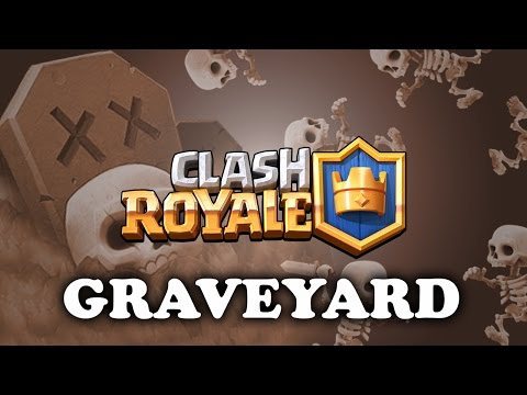 Clash Royale | Graveyard | How to Use & Counter