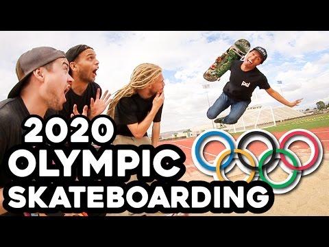 EXCLUSIVE SNEAK PEAK* 2020 OLYMPIC SKATEBOARDING!!