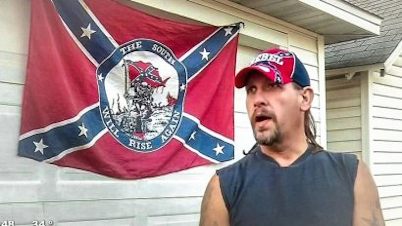 Man With Noose And Confederate Flag Says He S Not A