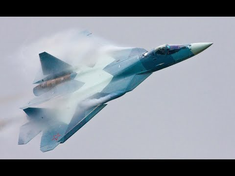 Sukhoi PAK FA T 50 The best fighter plane in the world Created in russia