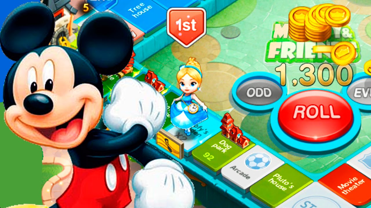Disney Magical Dice Android Hd Gameplay Video Youtube