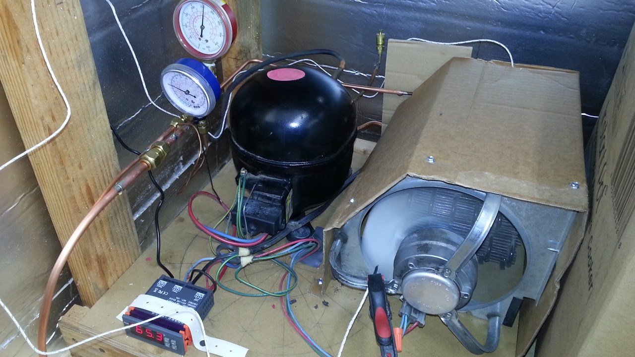 DIY Heat Pump from an old Fridge  YouTube