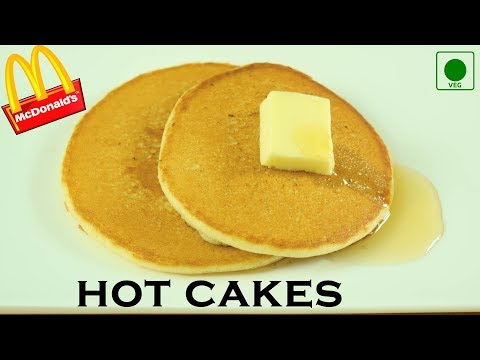 Make Hot Cakes like McDonald's at home| Eggless Pancakes|Secret to super soft pancakes| Yummylicious