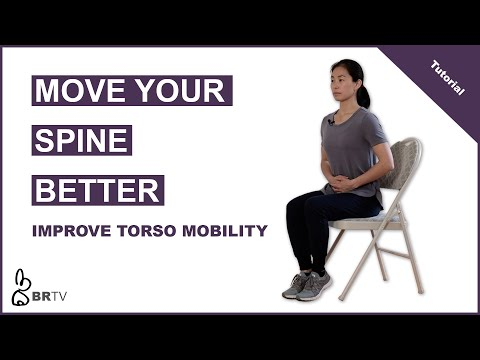 Taijiquan Basics | Sitting Spine Wave