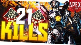 Download I Dropped 21 KILLS in Apex Legends! - PS4 Pro Apex Legends 20+ Kill Game! Mp3 and Videos