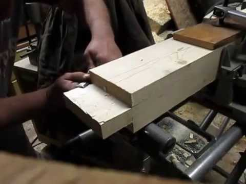 Timber frame bed Part one