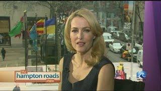 Gillian Anderson talks Crisis on THRS