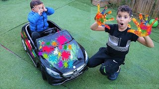 KIDS  PLAY Toy Car Wash for Children