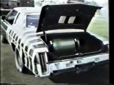 Краш тест автомобиля с газовым баллоном