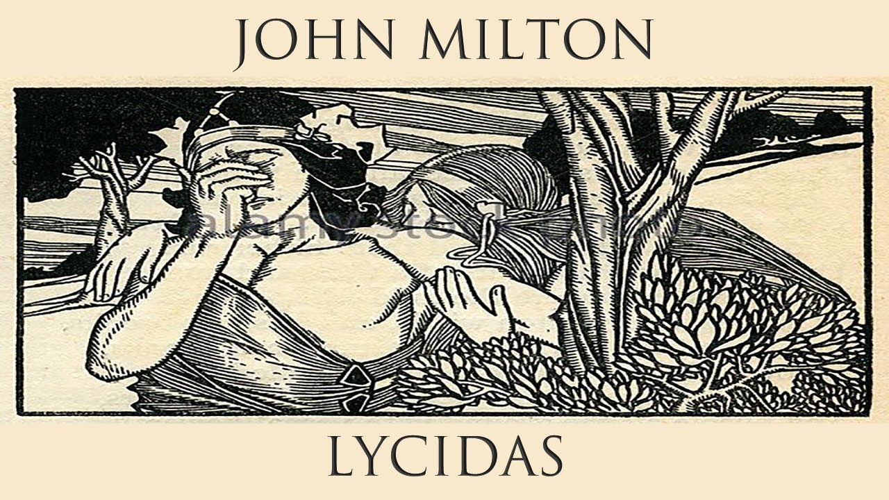 John Milton - Lycidas, Part 1 - YouTube