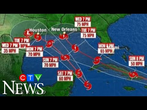 """""""The bigger threat is going to be Laura"""": A pair of tropical storms are bearing down on U.S. coast"""