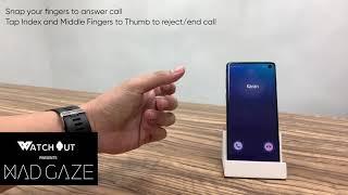 WatchOut Presents MadGaze Call Control Demo
