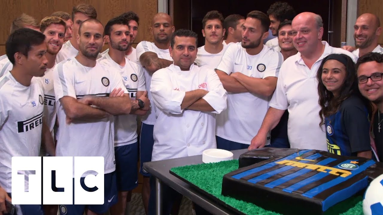 elegant shoes footwear special section Inter Milan F.C. Demands A Cake | Cake Boss
