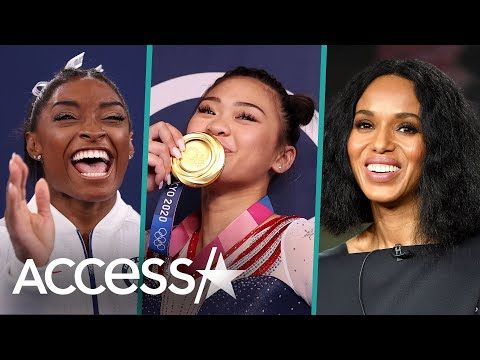Suni Lee Gets Support From Simone Biles & More After All-Around Win