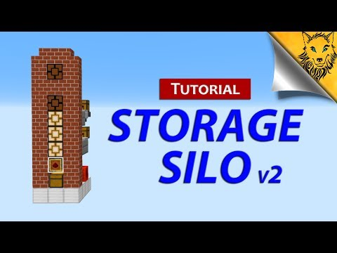 Minecraft: A New Storage Silo Design [1.12]