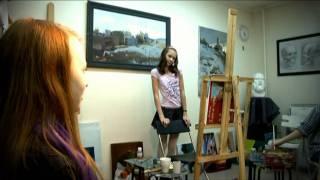 Уроки рисования, группа 10-14 лет