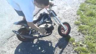 Pocket bike survitaminée