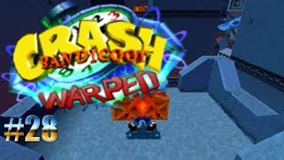 Entre fuego y cuchillos/Crash Bandicoot: Warped #28